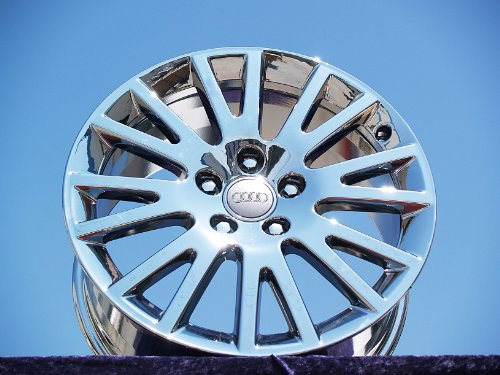 Audi A3: Set of 4 genuine factory 17inch chrome