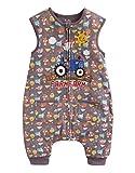 Vaenait Baby 80-110 Kleinkinder Jungen 100% Baumwolle Schlafsack Decke Funny