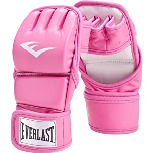 Everlast Pink Women's Wristwrap Kickboxing Glove
