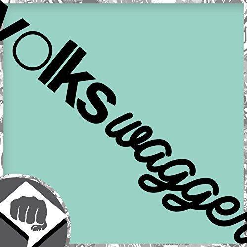 VOLKSWAGGER-Sticker-Bomb-Aufkleber-VAG-DUB-OEM-DUB-DUBWAY-innenklebend-wei