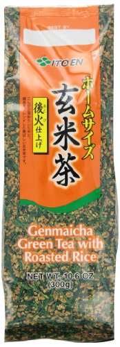 Ito-En Tea, Genmai-Cha, 10.6-Ounce Packages (Pack of 4) (Flavor Of Green Tea Over Rice compare prices)