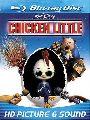 Cover art for  Chicken Little  [Blu-ray]