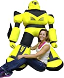 Gigantic Plush Robot 60 Inches Five Feet Tall Enormous Stuffed Toy Ships in a Huge Box to Make a Big Impression