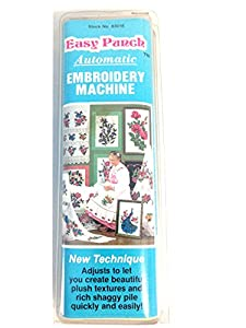 easy punch automatic embroidery machine