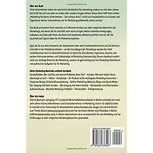 Marketing für kleine Unternehmen: Das schlaue Buch