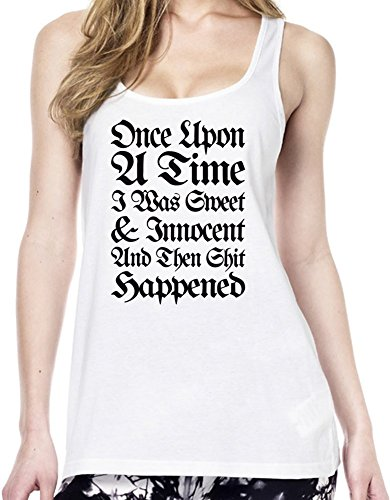Once Upon A Time I Was Sweet And Innocent Slogan Tunica delle donne Medium