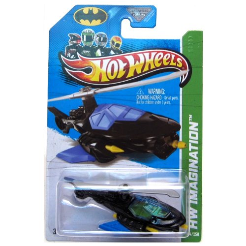 2013 Hot Wheels Hw Imagination 64/250 - Batcopter - New!