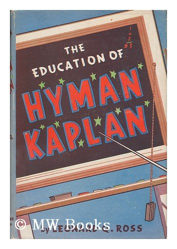 Image for The Education of Hyman Kaplan