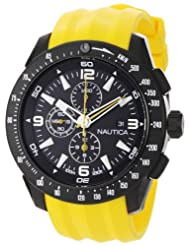 Nautica N18599G Yellow Resin Black