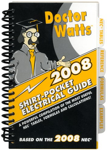 Dr Watts Pocket Electrical Guide 2008