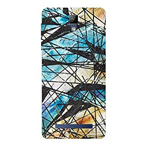Zeerow 710AT Mobile Back Cover for Micromax Q413
