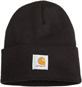 Carhartt Men's Acrylic Watch Hat,Black,One Size