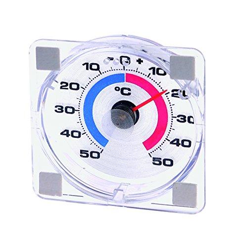 Westmark 52122280 Thermomètre de Fenêtre Plastique Blanc 8 x 8 x 2 cm