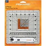 Amazon Com Fiskars 8x8 Inch Rotating Cutting Mat