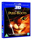 Puss in Boots (Blu-ray 3D + Blu-ray + DVD + Digital Copy) [2012] [Region Free]