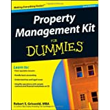 Property Management Kit For Dummies (Book & CD) ~ Robert Griswold