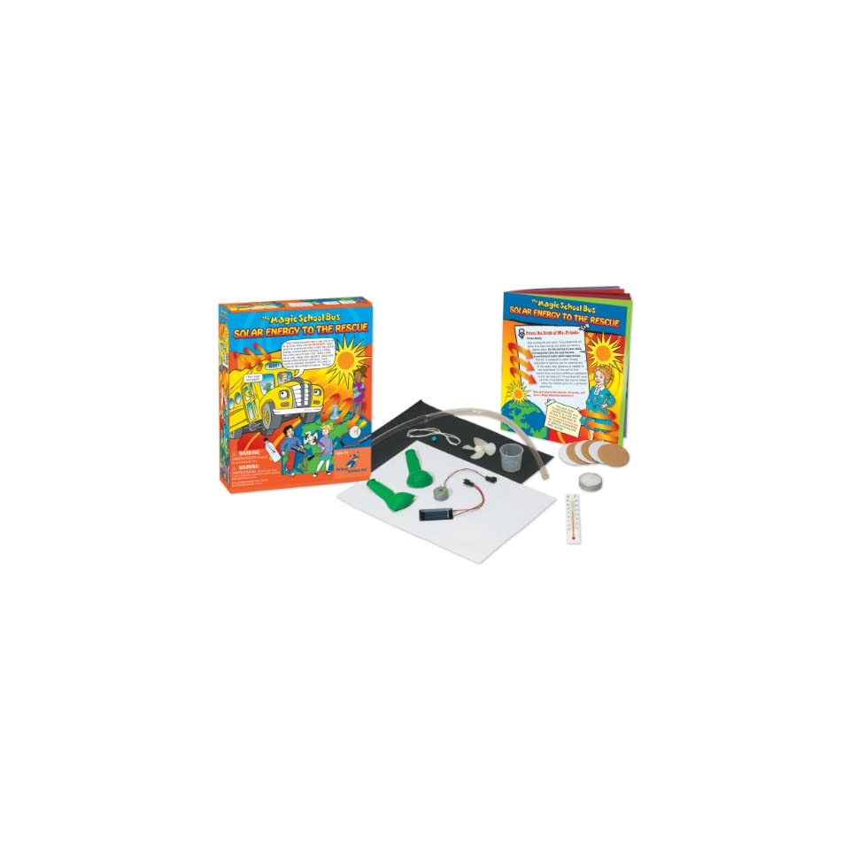 The magic school bus solar energy to the rescue toys for Solar energy games
