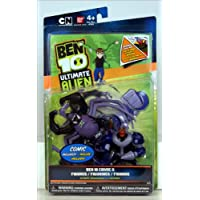 Ben 10 Ultimate Alien Comic Exclusive 4 Inch Action Figure 2Pack Ultimate Spidermonkey Vulkanus