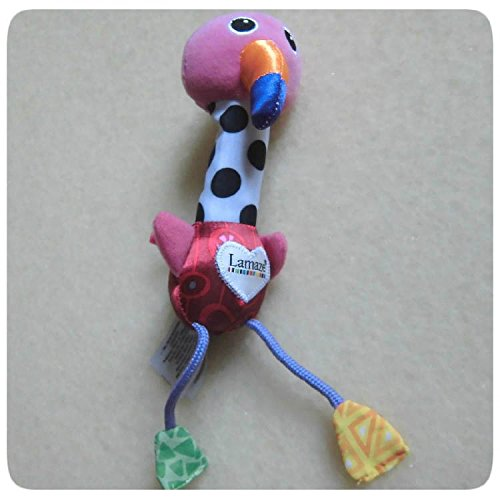 Cheery Chirpers Soft Toys Flamingo Baby Developmental Toy Kids Rattle Activity Brand Products front-918014