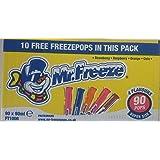 Mr. Freeze Super Size Freezepops 80 x 90ml (Pack of 90 x 90ml)