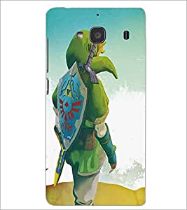 XIAOMI REDMI 2S CARTOON CHARACTER Designer Back Cover Case By PRINTSWAG