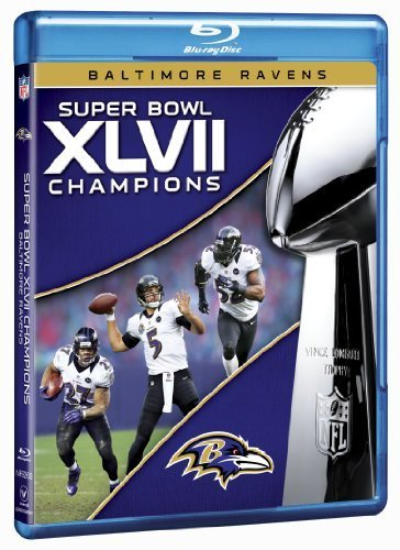 NFL Super Bowl XLVII Champions: 2012 Baltimore Ravens [Blu-ray] by NFL Productions (Super Bowl 2012 compare prices)