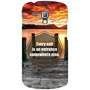 Samsung Galaxy S Duos 7582 Back Cover - Every Exit Designer Cases