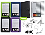 CrazyOnDigital 15-item Leather Case Accesory Kit for Barnes and Noble Nook eBook Reader Picture