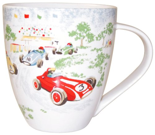 Cath Kidston Racing Cars Crush Mug, Fine China