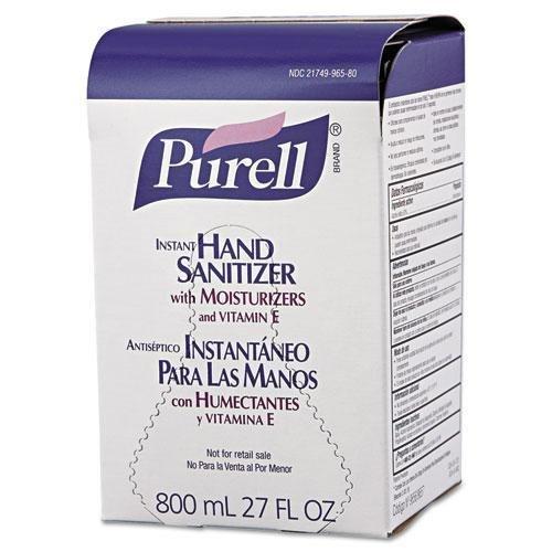 GO-JO INDUSTRIES 965712 Instant Hand Sanitizer 800mL Refill, 12/Carton недорого