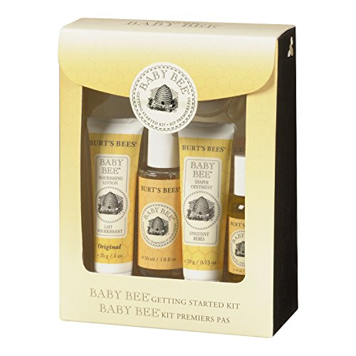 Burt S Bees Baby Bee Getting Started Gift Set New Free