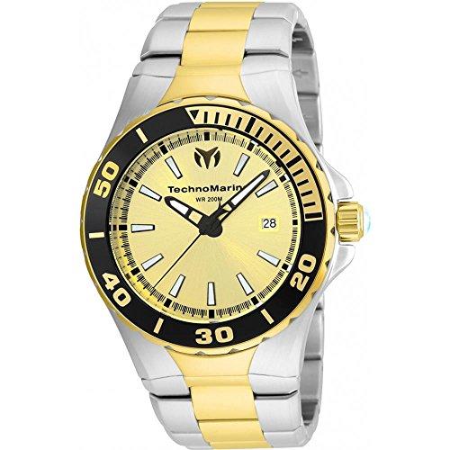 technomarine-manta-homme-44mm-bracelet-acier-bicolore-boitier-acier-inoxydable-quartz-montre-tm-2150