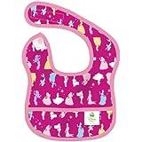 Bumkins Disney Baby Waterproof Starter Bib, Princess Silhouette, 6-9 Months