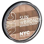 NYC Sun 'n' Bronze Bronzing Powder, Hamptons Radiance 706, 0.42 oz (12 g)