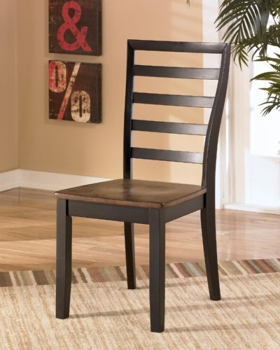 set of 2 dining room side chair by ashley furniture compare prices