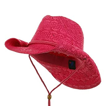 Ladies Toyo Cowboy Hat - Fuchsia