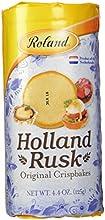 Roland Holland Rusk Crispbakes 44-Ounce Pack of 12