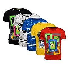 Crux&hunter boy's tshirts