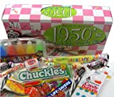 1950s Retro Candy Gift Box-Decade Box Gift Basket - Classic 50s Candy - 9.75OZ (276g)