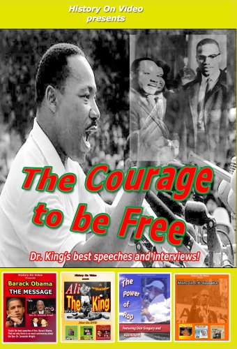 Courage to Be Free: Dr. King's Best Speeches [DVD] [Import]