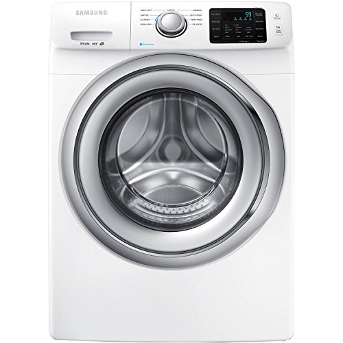 Samsung WF42H5200AW Energy Star 4.2 Cu. Ft. Front-Load Steam Washer with SelfClean, White by Samsung