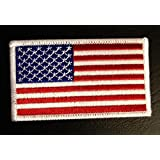 USA Army Drapeau Patch ''8,2 x 5,0 cm'' - Écusson brodé Ecussons Imprimés Ecussons Thermocollants Broderie Sur Vetement Ecusson