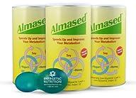 Almased Diet Protein Powder 3-pack (1…