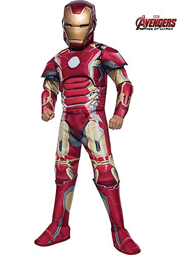Rubie's Costume Avengers 2 Age of Ultron Deluxe Iron Man Mark 43 Costume