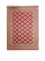Navaei & Co. Alfombra Kashmir Rojo/Multicolor 187 x 124 cm