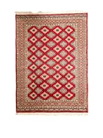 QURAMA Alfombra Kashmir Rojo/Multicolor 187 x 124 cm