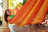 THICK CORD Hammock follows the traditional Mayan weaving but in a thick cord which makes it extra durable and heavy weight resistant. ItÕs a big hammock, great to share with family or friends. Up to 880 pounds resistance. Recommended for heav...