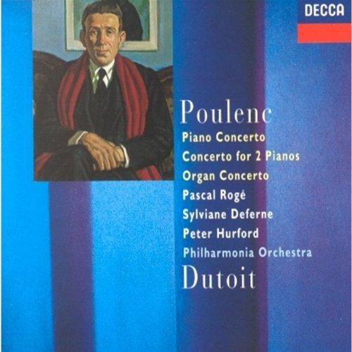 Poulenc: Piano Concerto, Concerto for 2 Pianos, Organ Concerto (Poulenc Organ Concerto compare prices)