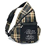 Divinity Boutique Plaid Slingback Backpack - Psalm 118:24