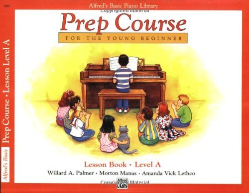 Download Alfred's Basic Piano Library: Prep Course Lesson Level A